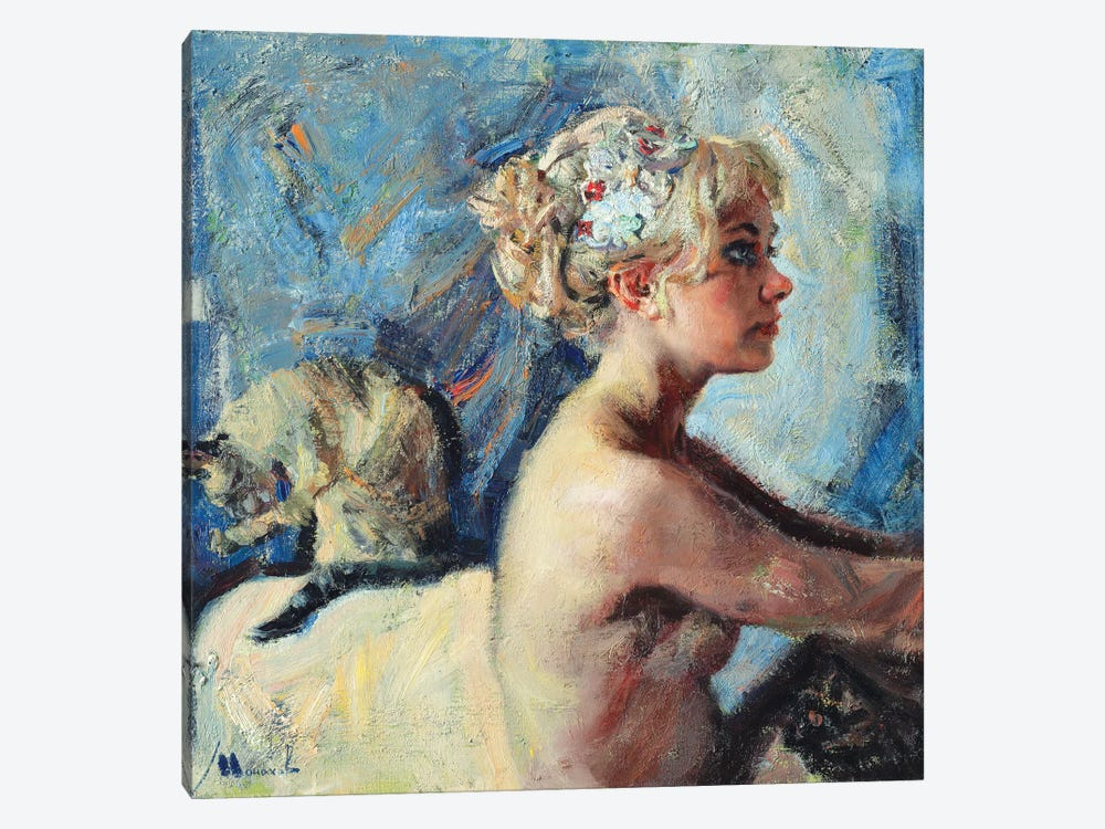 The Bride by Evgeniy Monahov 1-piece Canvas Artwork