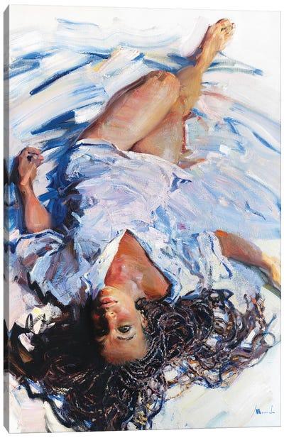 Upside Down Canvas Art Print