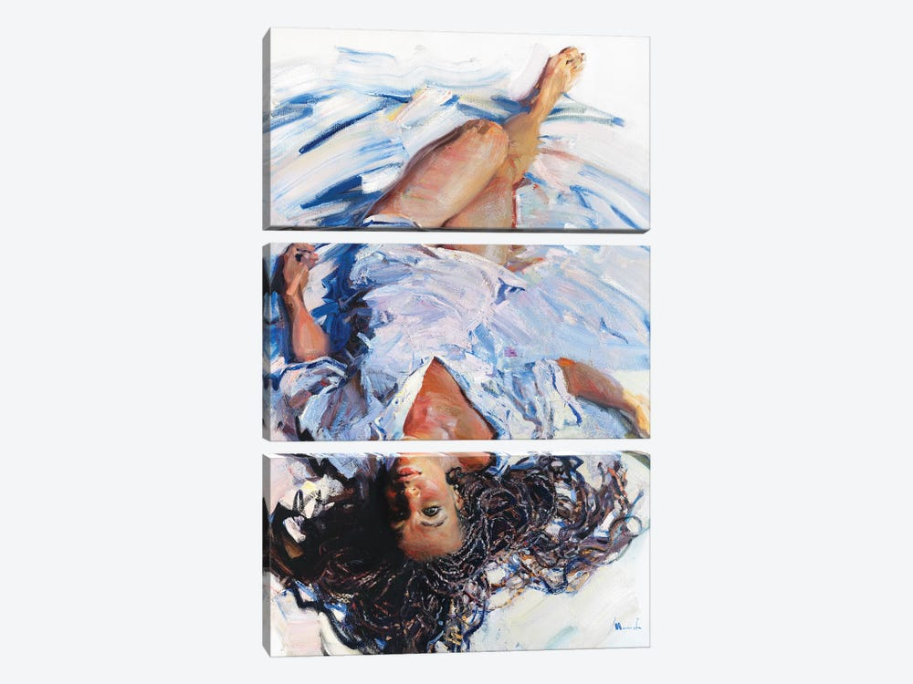 Upside Down by Evgeniy Monahov 3-piece Canvas Print