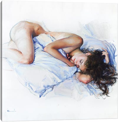 White Nights Canvas Art Print