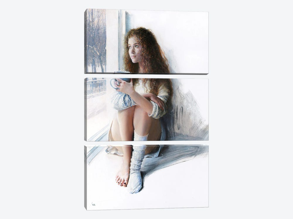 Lost One by Evgeniy Monahov 3-piece Canvas Art