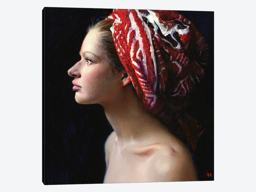 Wet Hair by Evgeniy Monahov 1-piece Canvas Print