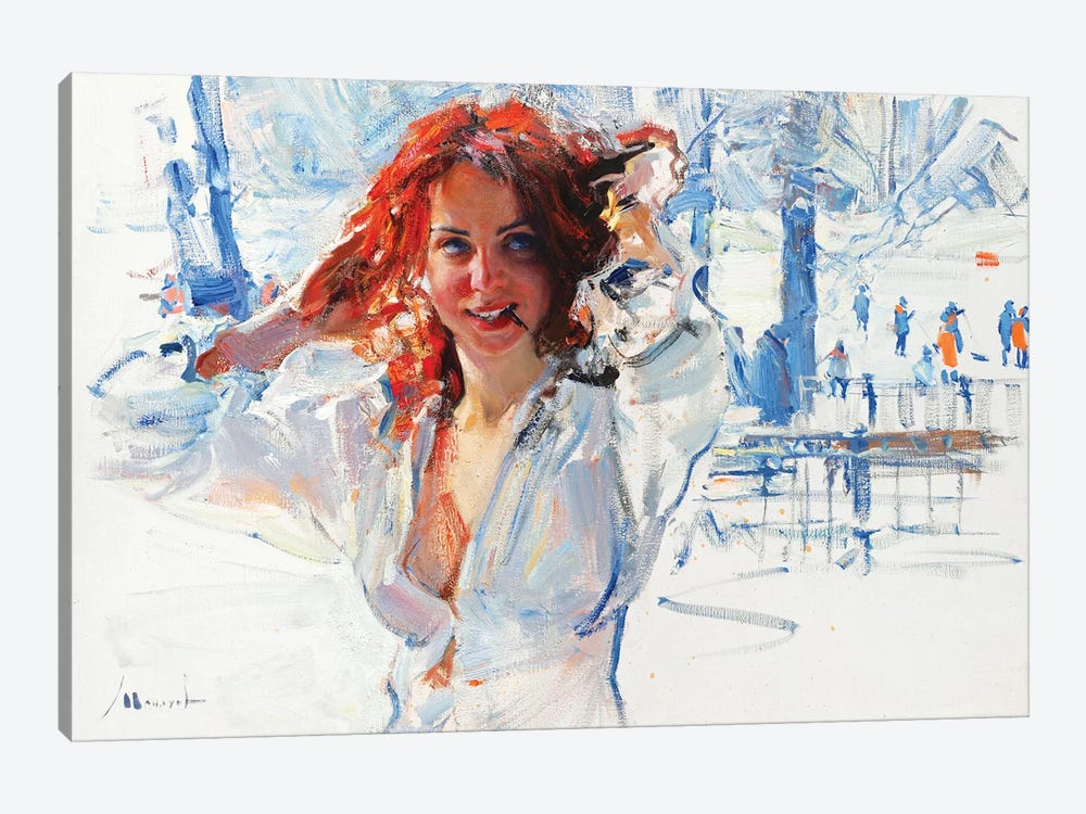 Hot Blood by Evgeniy Monahov 1-piece Art Print