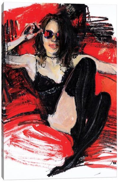Little Demon Canvas Art Print