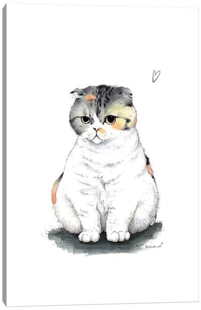 Cleo Canvas Art Print