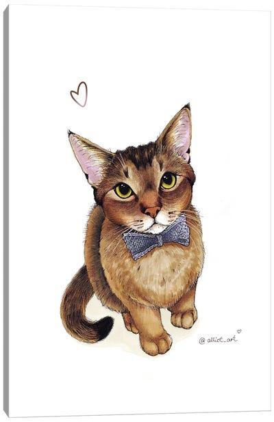 Gentleman Canvas Art Print