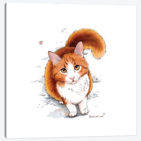Ginger Canvas Print #EVK20} by Evgeniya Kartavaya Canvas Print