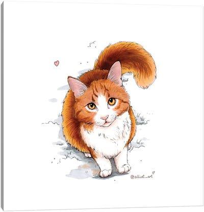 Ginger Canvas Art Print