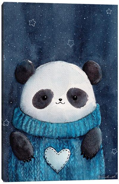 Baby Panda Canvas Art Print