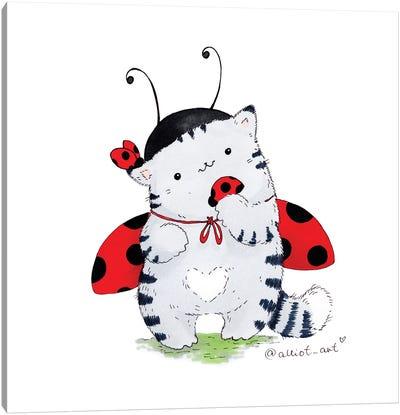 Mr. Pie: Ladybug Canvas Art Print