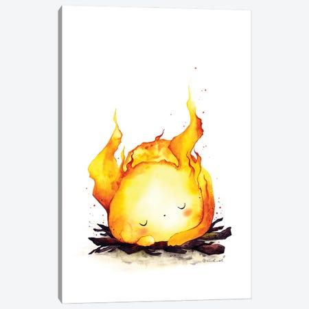 Spirit Of Fire Canvas Print #EVK54} by Evgeniya Kartavaya Art Print