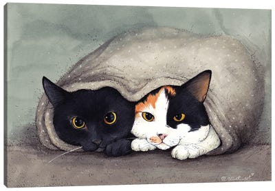 Warm Blanket Canvas Art Print