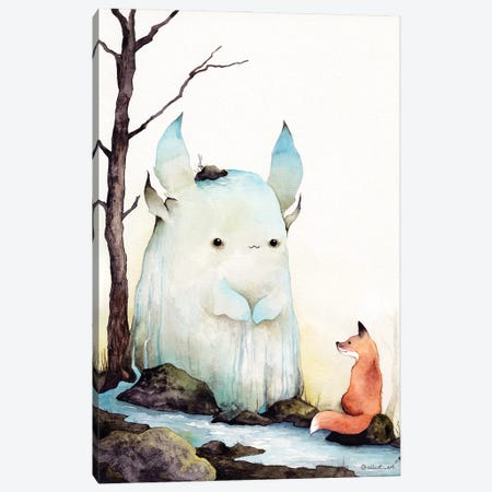 Stream Spirit Canvas Print #EVK61} by Evgeniya Kartavaya Art Print