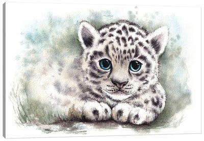Wild Kitten Canvas Art Print