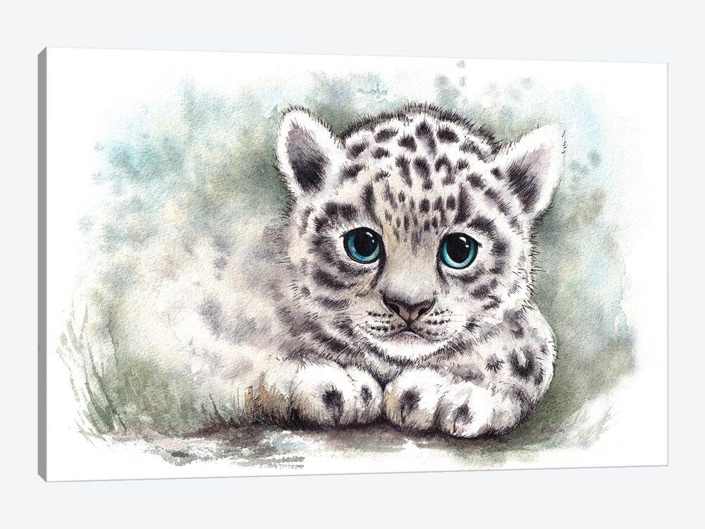Wild Kitten by Evgeniya Kartavaya 1-piece Canvas Artwork