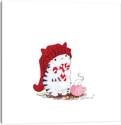 Mr. Pie Holiday Canvas Art Print