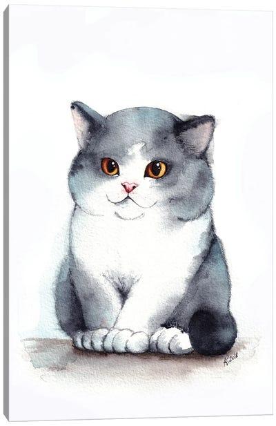 Chubby Cheeks Canvas Art Print