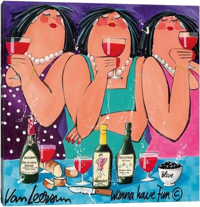 Wanna Have Fun II Canvas Art Print