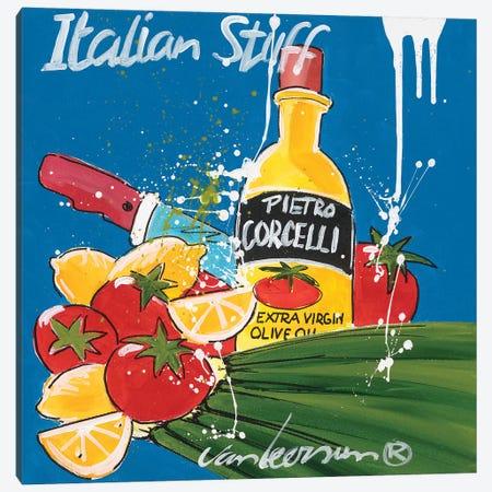 Italian Stuff 3-Piece Canvas #EVL3} by El van Leersum Canvas Art Print