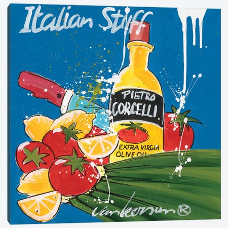 Italian Stuff Canvas Print #EVL3} by El van Leersum Canvas Art Print