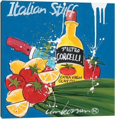 Italian Stuff Canvas Art Print