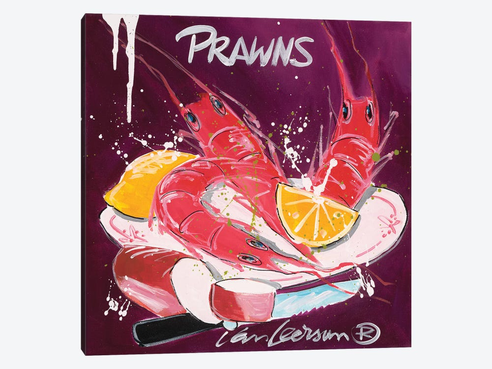 Prawns by El van Leersum 1-piece Art Print
