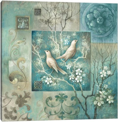 Arboretum Spring Song I Canvas Art Print
