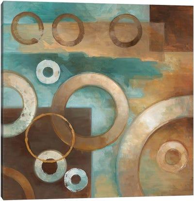 Circular Motion I Canvas Art Print