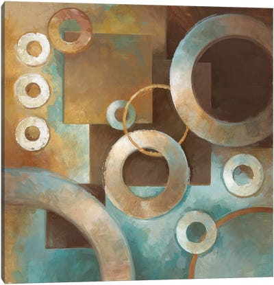 Circular Motion II Canvas Art Print