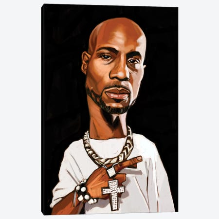 DMX Canvas Print #EVW14} by Evan Williams Canvas Art Print