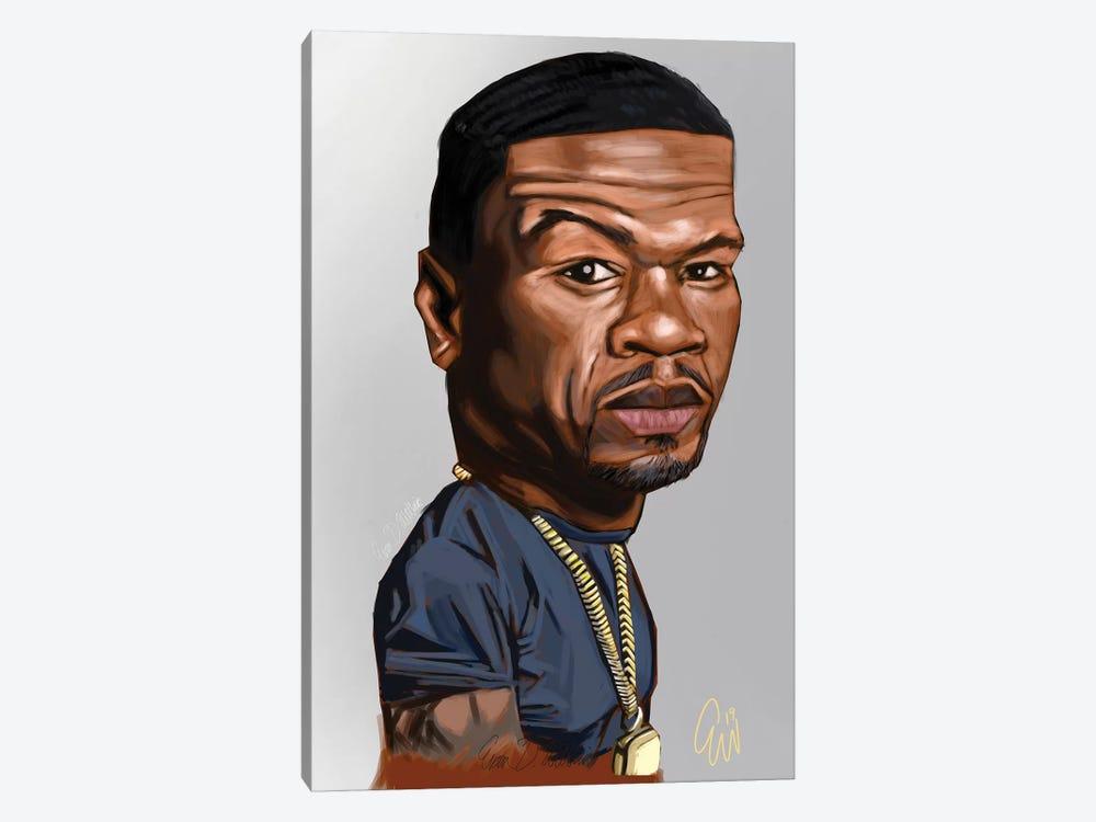 50 Cent by Evan Williams 1-piece Canvas Art