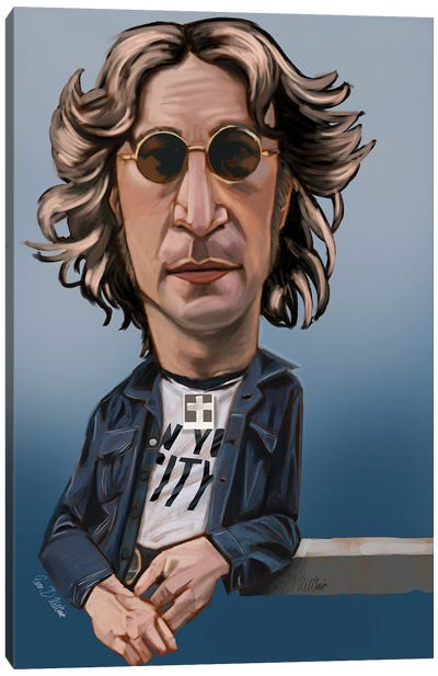 Lennon Canvas Art Print
