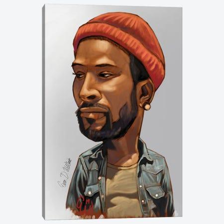 Marvin Canvas Print #EVW30} by Evan Williams Canvas Wall Art