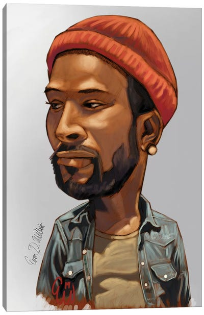 Marvin Canvas Art Print
