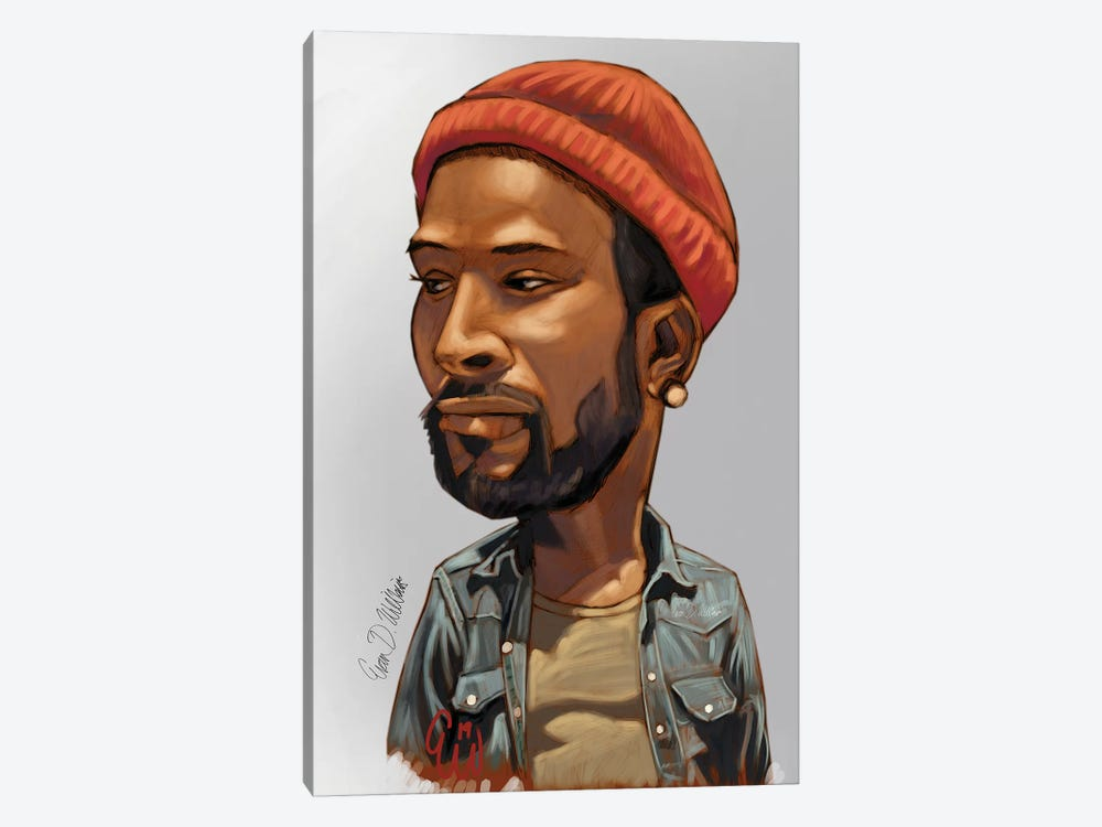 Marvin by Evan Williams 1-piece Art Print