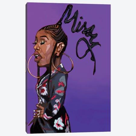 Missy E Canvas Print #EVW31} by Evan Williams Canvas Wall Art