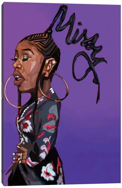 Missy E Canvas Art Print