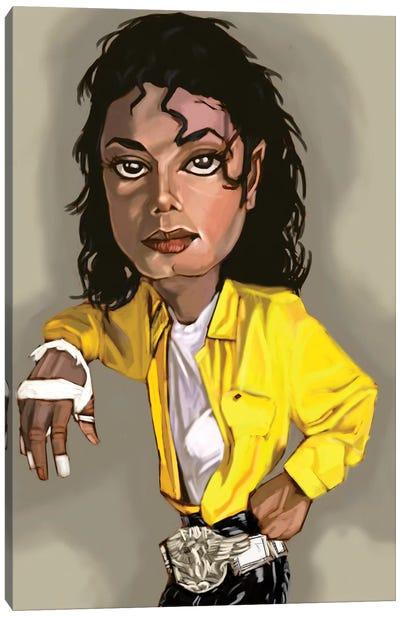 MJ Canvas Art Print
