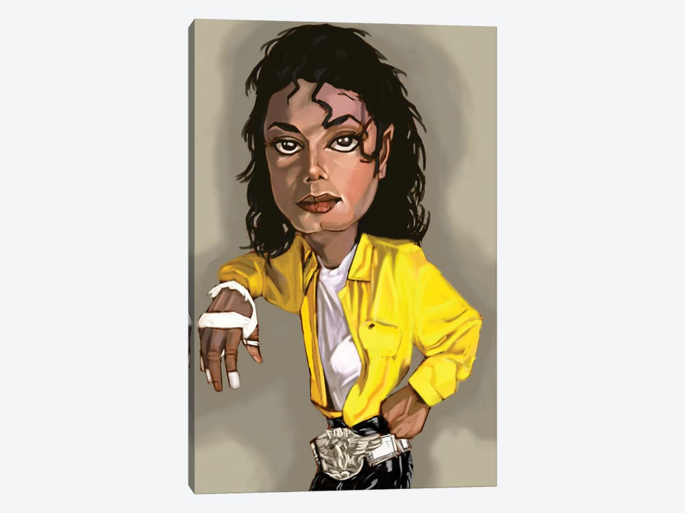 MJ by Evan Williams 1-piece Canvas Art Print