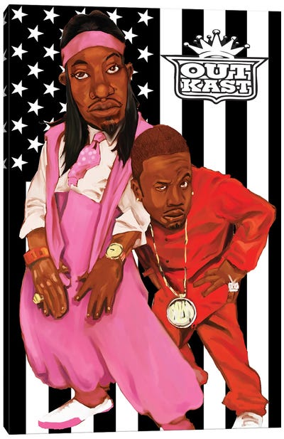 Outkast Canvas Art Print