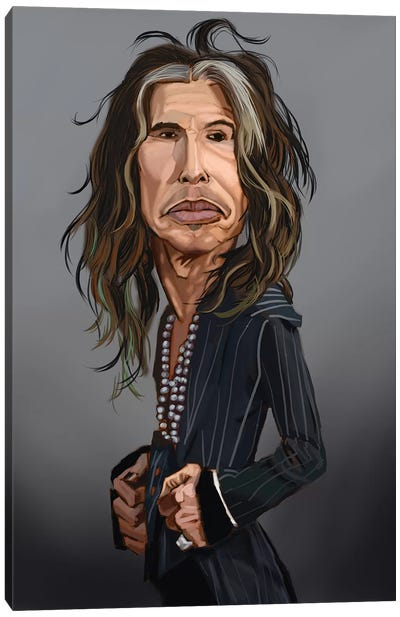 Steven Tyler Canvas Art Print
