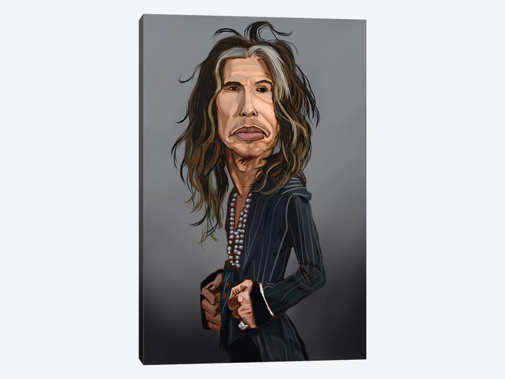 Steven Tyler by Evan Williams 1-piece Canvas Art