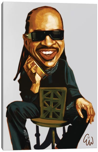 Stevie W Canvas Art Print
