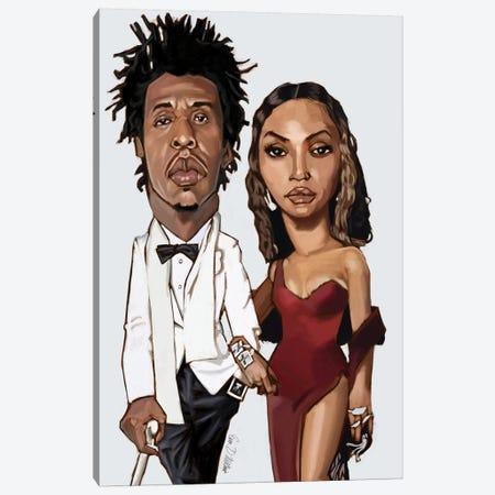 The Carters Canvas Print #EVW47} by Evan Williams Canvas Artwork