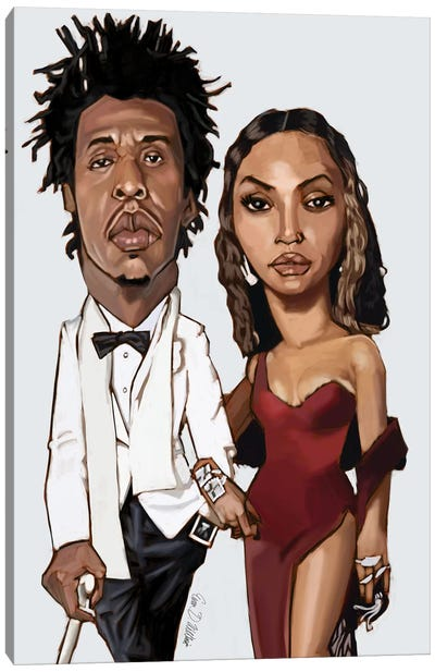 The Carters Canvas Art Print