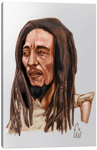 B. Marley Canvas Art Print