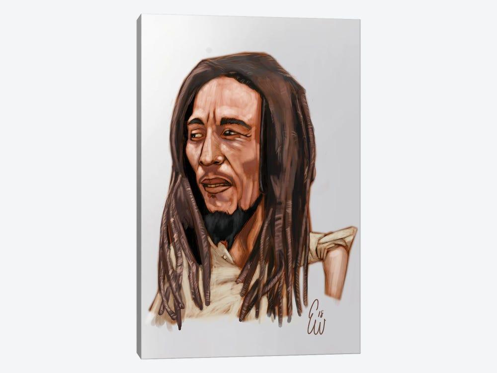 B. Marley by Evan Williams 1-piece Canvas Art Print