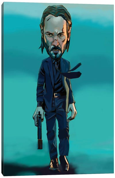 Wick Canvas Art Print