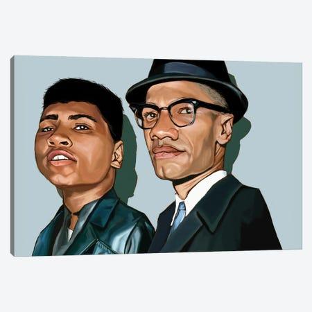 Ali And X Canvas Print #EVW55} by Evan Williams Art Print