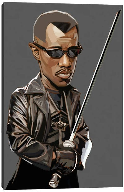 Blade Canvas Art Print